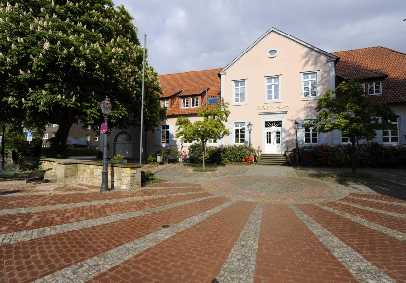 town hall in Bad Iburg