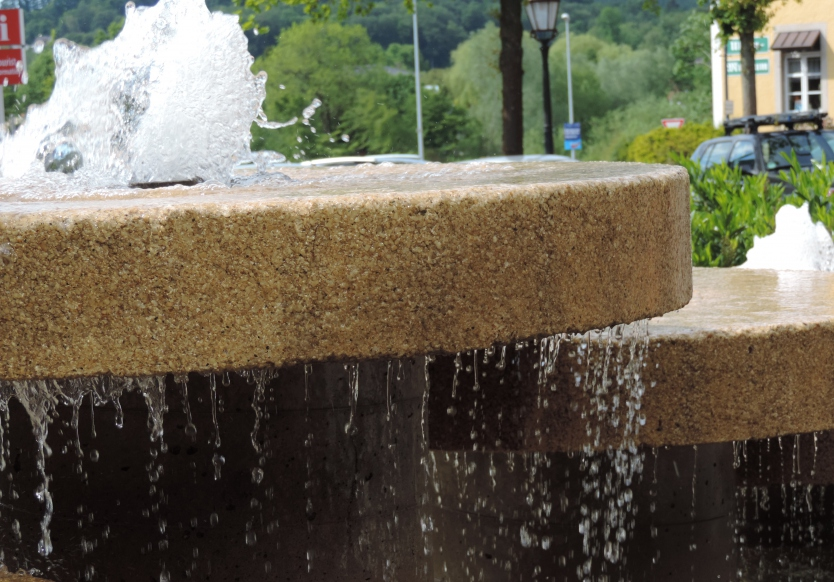 fountain in Bad Iburg