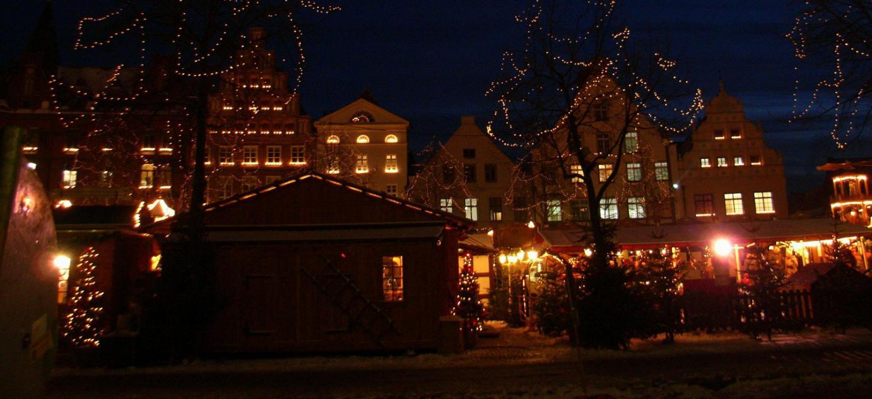 Einer Der Schonsten Weihnachtsmarkte Im Norden